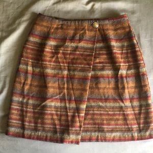 Petite sophisticate & co wrap skirt western